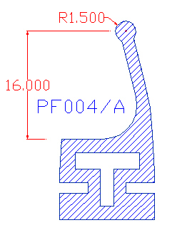 dichtungen f r duschkabinen profili in plastica estrusione profili in plastica zanziplast. Black Bedroom Furniture Sets. Home Design Ideas